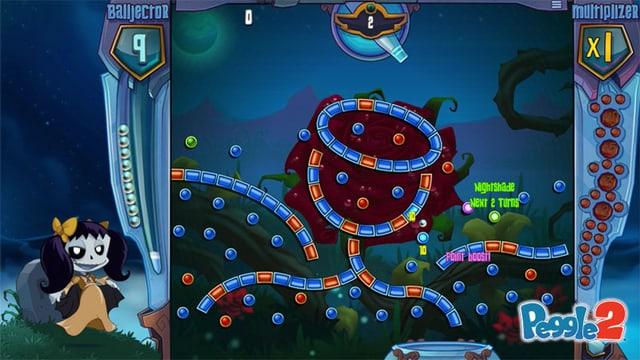 Eine Spielszene aus dem Game «Peggle 2»