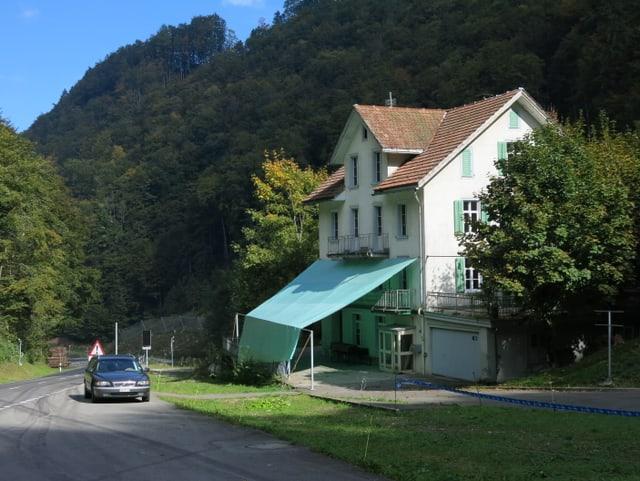 Das Gasthaus Grünenwald.