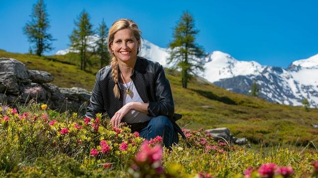Sabine Dahinden erzählt diesen Sommer für «Schweiz aktuell» eine Woche lang Geschichten aus dem Simplongebiet.