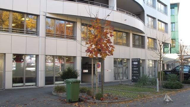 Blick auf die Fassade des Kriminalgerichts in Luzern.
