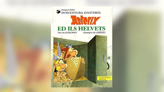 Cover dad «Asterix ed ils Helvets»:
