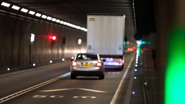Il tunnel dal Gottard.