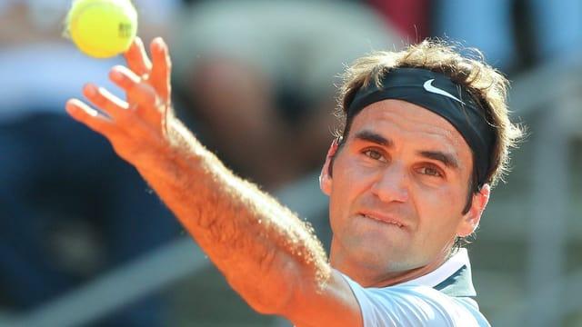 Roger Federer strebt den 7. Sieg gegen Philipp Kohlschreiber an.