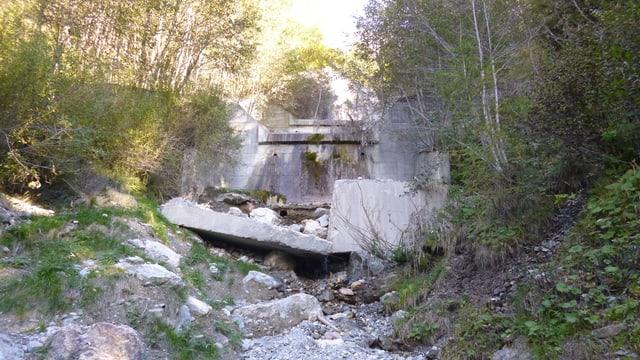 vista en la Val Beton en il Puschlav