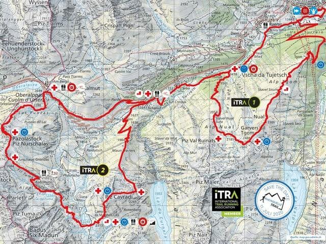 ruta Rheinquelle-Trail