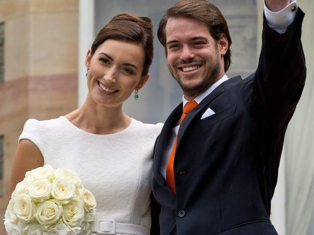 Prinz Félix und Prinzessin Claire: Das royale Paar erwartet ihr erstes Kind.