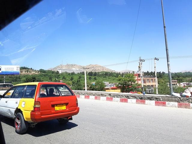Das Hotel Intercontinental in Kabul.