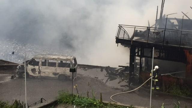 Grossbrand in Thusis GR