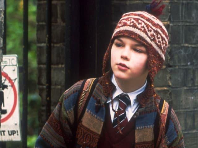 Nicholas Hoult als kleiner Junge in «About a Boy».