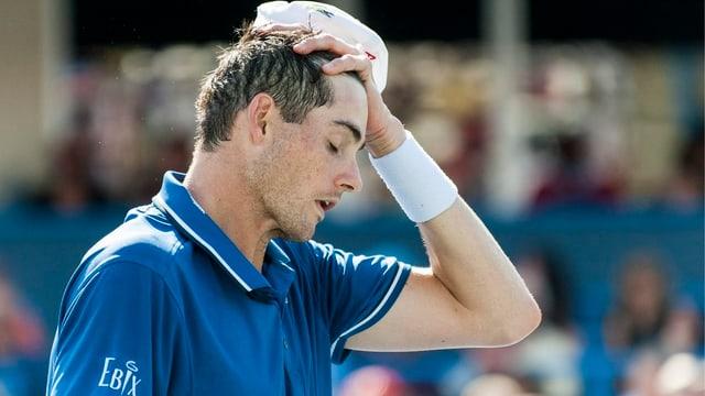 Die amerikanischen Tennisprofis (im Bild John Isner) befinden sich auf Abwegen.