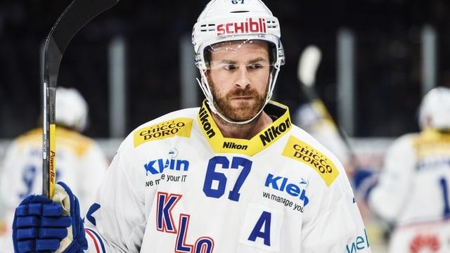 Romano Lemm auf dem Eis.