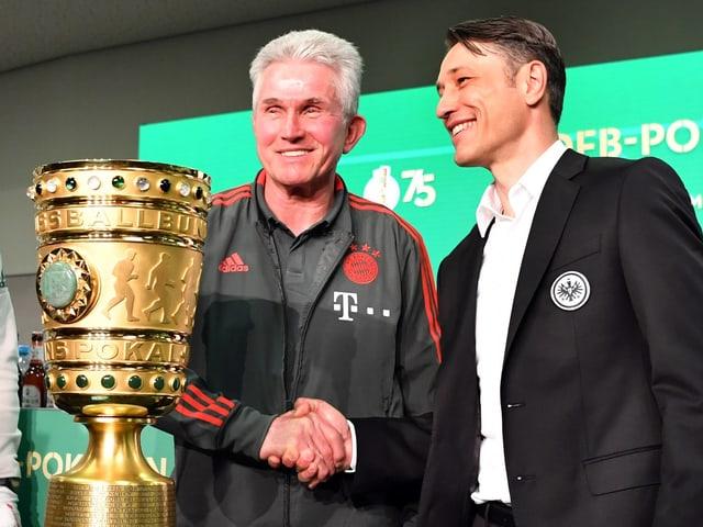 Jupp Heynckes, Nachfolger Niko Kovac und der DFB-Pokal.