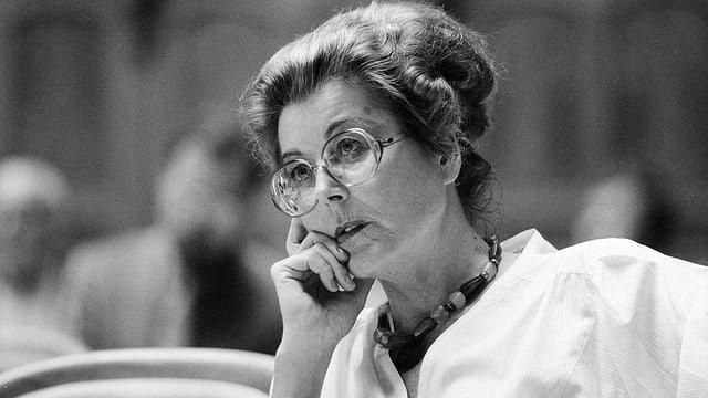 Lilian Uchtenhagen aveva 88 onns.