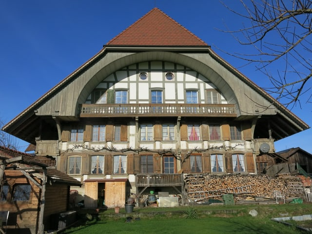 Grosses Bauernhaus, Blick von Vorne