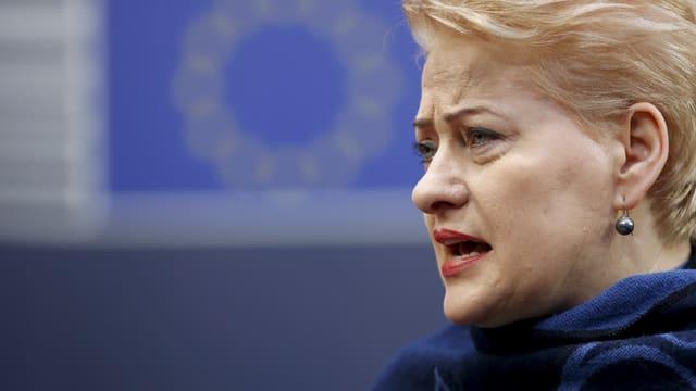 Aufnahme von Dalia Grybauskaite