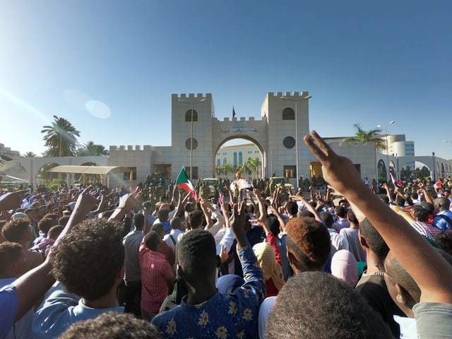 .Demonstration im Sudan.