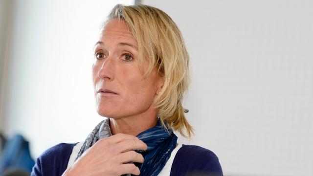 Portrait Susanne Hochuli.