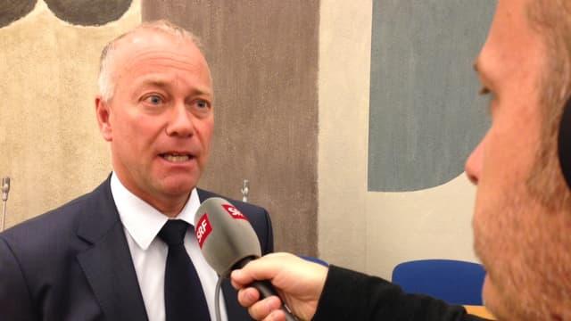 Oltner Stadtpräsident Martin Wey