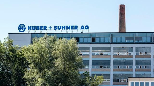 Firmensitz von Huber + Suhner in Herisau