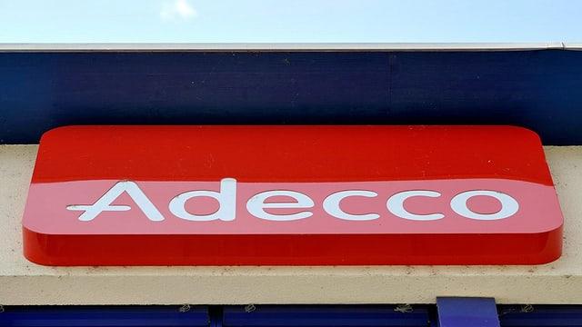 Il logo d'Adecco.