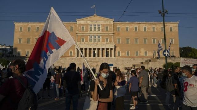 Die Reform des Arbeitsgesetzes in Griechenland war in den letzten Tagen von massiven Strassenprotesten begleitet. Während des 24-Stunden-Streiks stand am Mittwoch in Athen der öffentliche Verkehr so gut wie still.