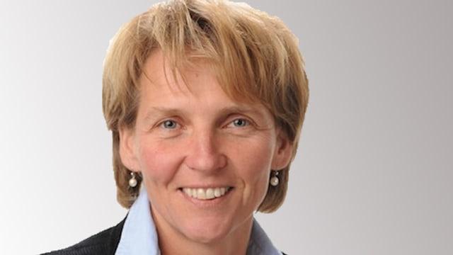 Porträtbild von Karin Kayser, CVP Regierungsratskandidatin Nidwalden.