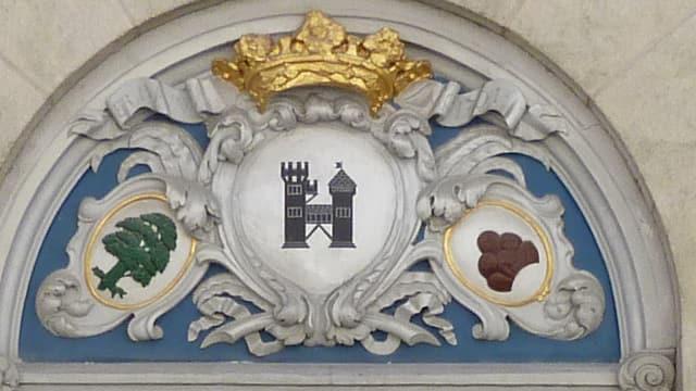 Eingangsportal Bezirksgericht Brugg