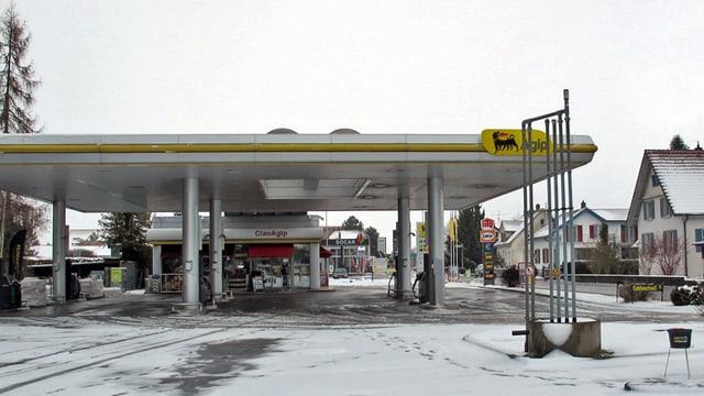 Leere Tankstellen im Schaffhauser Dorf Ramsen