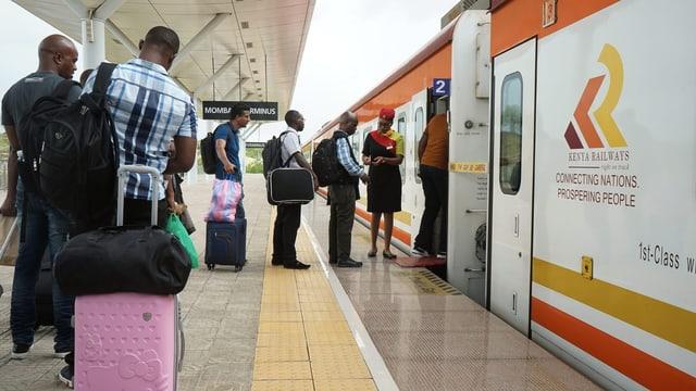 In Kenia fährt der Zug nach Nirgendwo