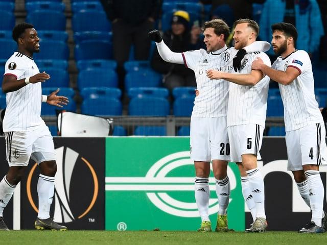2:0-Triumph gegen Trabzonspor - Widmer und Stocker schiessen Basel zum Gruppensieg