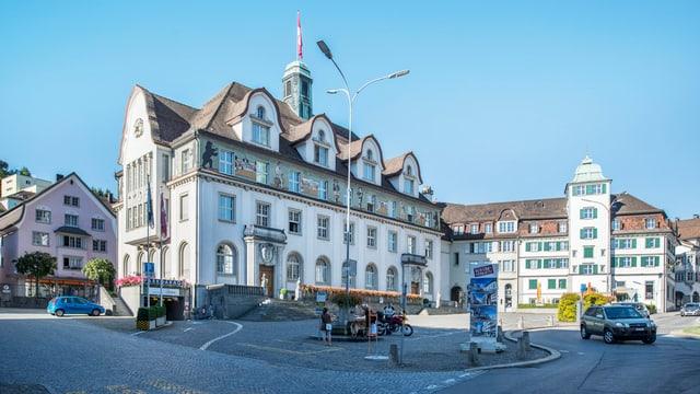 Das Regierungsgebäude des Kantons Appenzell Ausserrhoden in Herisau.