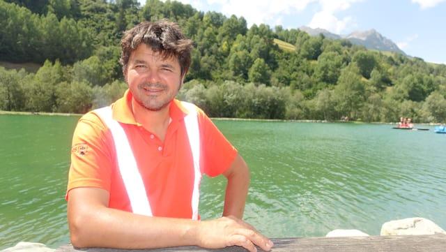 Martegn Netzer, il schef dal servetsch tecnic da la vischnanca Surses.