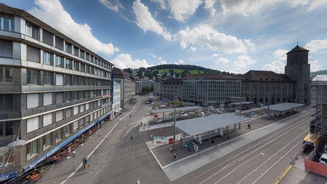 Neuer St. Galler Bahnhofplatz