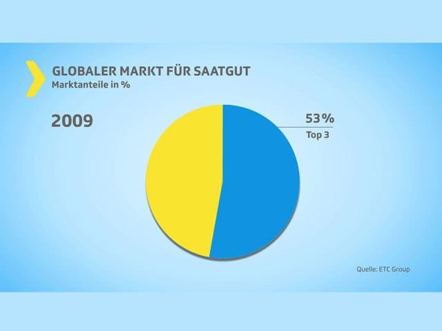 Grafik Saatgut-Markt 2009