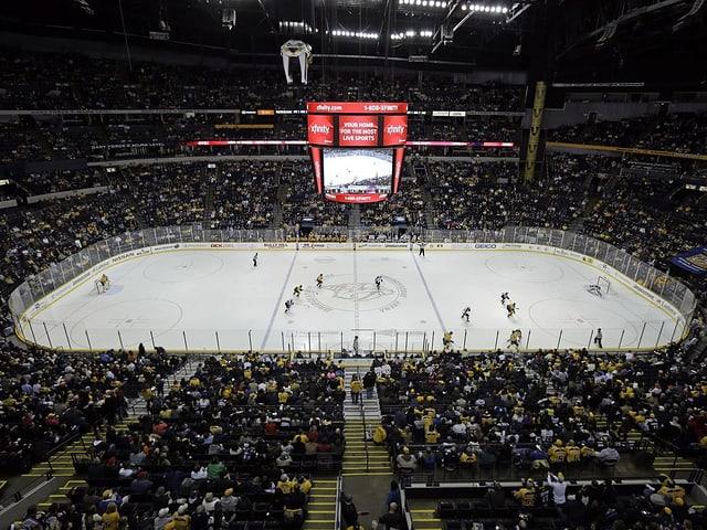 Stadion der Nashville Predators.