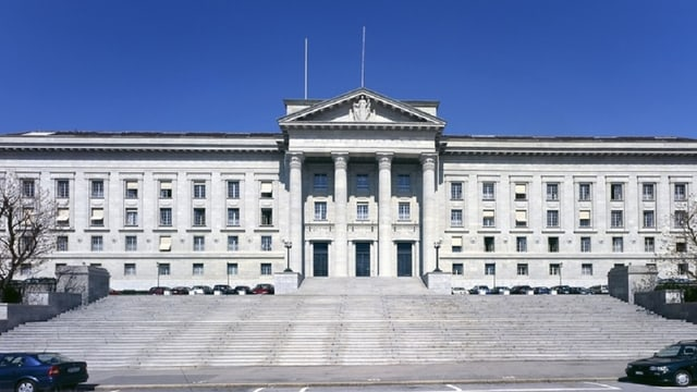 L'edifizi dal Tribunal federal svizzer.