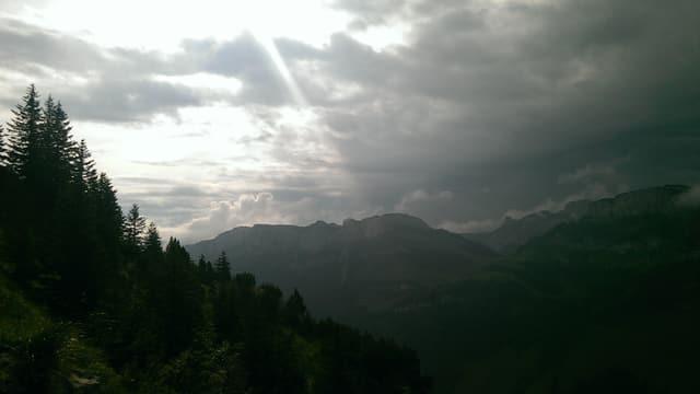 Eindrückliche Stimmung im Alpstein.