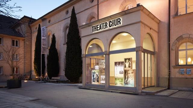 entrada dal teater da Cuira