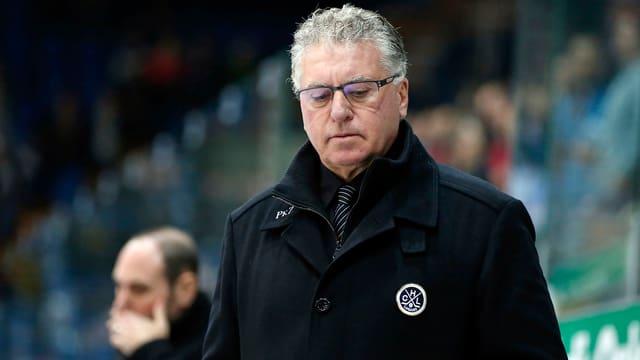 Lugano-Coach Doug Shedden.