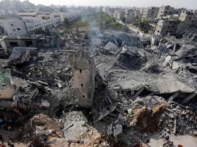 Trümmer in Gaza-Stadt