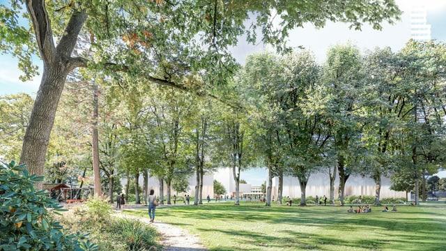 So soll der Park künftig aussehen.