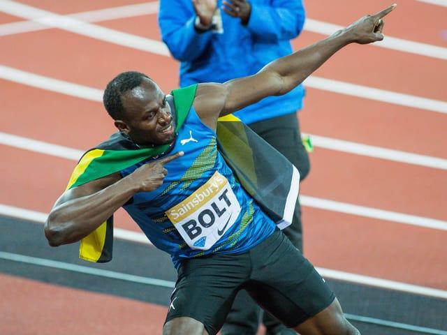 Usain Bolt scheint rechtzeitig fit zu sein für die WM.