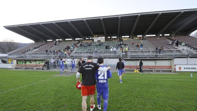 Das Gurzelen-Stadion in Biel