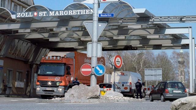 Zoll St. Margrethen
