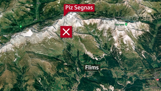 Luftbild Karte.