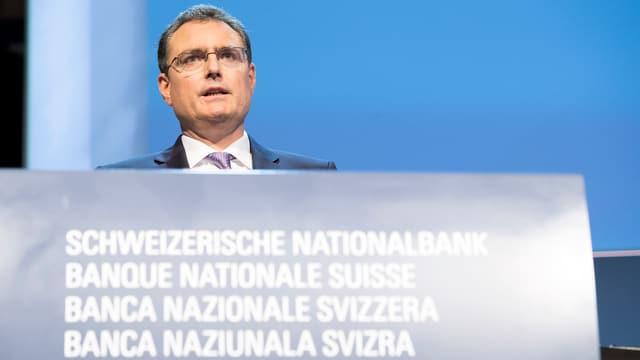 Thomas Jordan, president da la banca naziunala svizra.