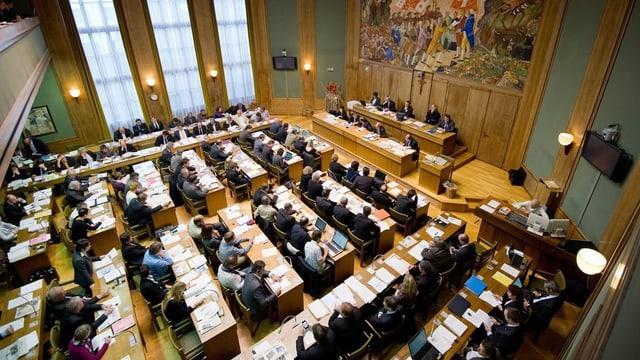 Der Walliser Grossratssaal.