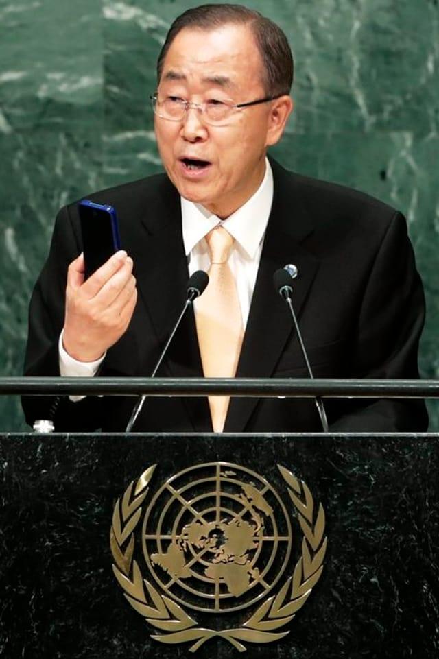 Ban Ki Moon, il secretari general da l'ONU.