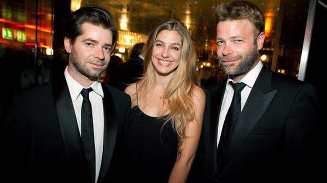 Die Geschwister Lionel, Diego und Nora Baldenweg.