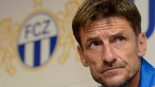 FCZ-coach Urs Meier steht im Cupspiel gegen Baden unter Druck.